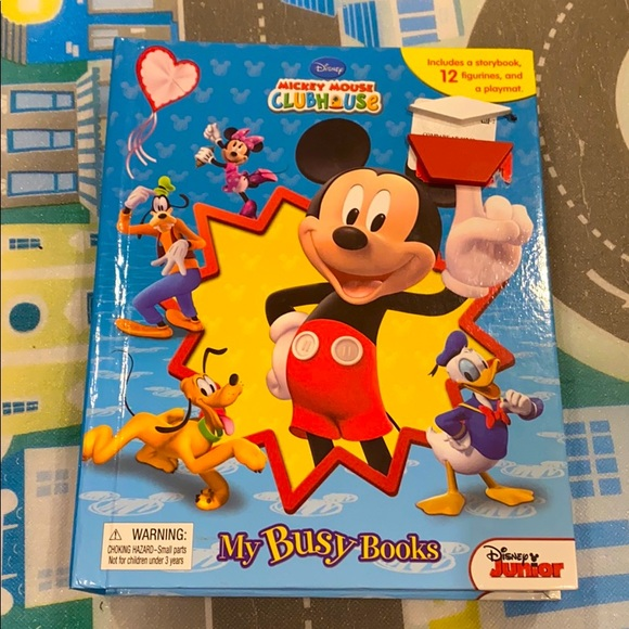"""8/$25 😎 Mickey Mouse """"My Busy Books"""""""